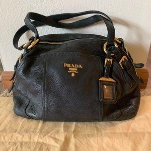 Authentic Prada Classic Black Hand Bag